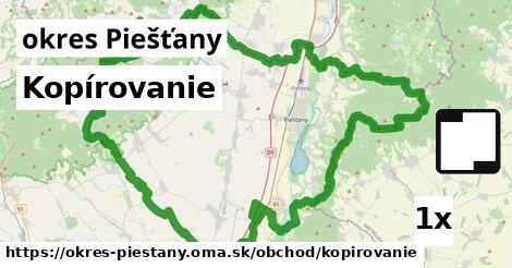 ilustračný obrázok k Kopírovanie, okres Piešťany