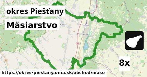 ilustračný obrázok k Mäsiarstvo, okres Piešťany