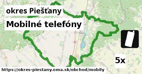 ilustračný obrázok k Mobilné telefóny, okres Piešťany