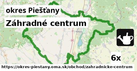 ilustračný obrázok k Záhradné centrum, okres Piešťany