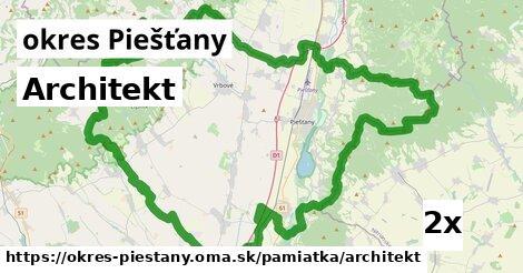 architekt v okres Piešťany