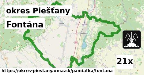 ilustračný obrázok k Fontána, okres Piešťany