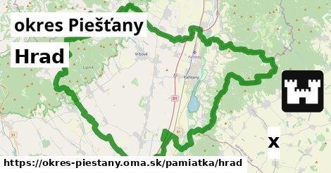 ilustračný obrázok k Hrad, okres Piešťany