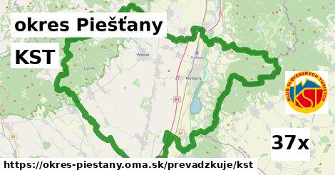 KST v okres Piešťany