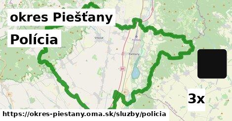 ilustračný obrázok k Polícia, okres Piešťany