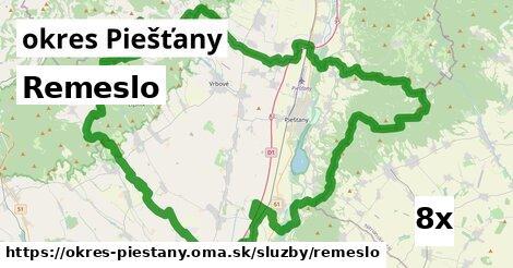 ilustračný obrázok k Remeslo, okres Piešťany