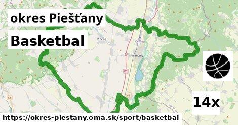 ilustračný obrázok k Basketbal, okres Piešťany