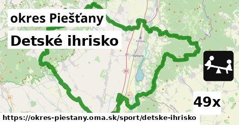 detské ihrisko v okres Piešťany