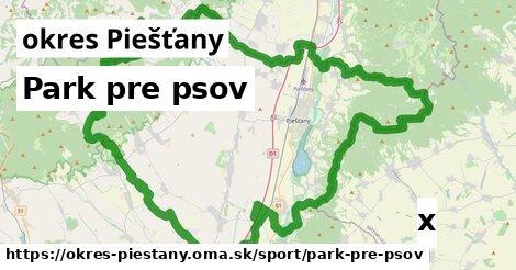 ilustračný obrázok k Park pre psov, okres Piešťany