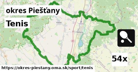 ilustračný obrázok k Tenis, okres Piešťany