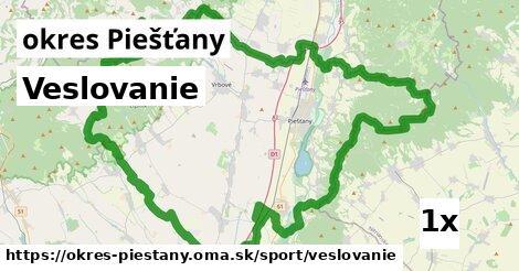 ilustračný obrázok k Veslovanie, okres Piešťany
