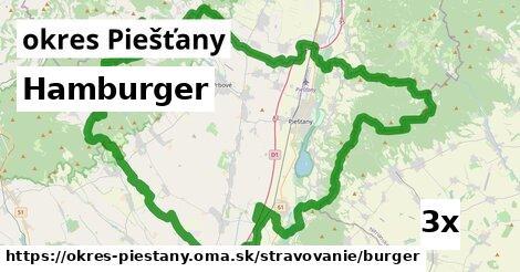 ilustračný obrázok k Hamburger, okres Piešťany