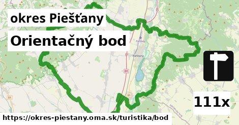 orientačný bod v okres Piešťany
