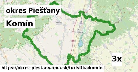 ilustračný obrázok k Komín, okres Piešťany
