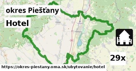 hotel v okres Piešťany