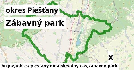 zábavný park v okres Piešťany