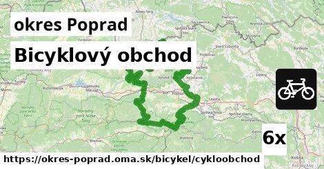 ilustračný obrázok k Bicyklový obchod, okres Poprad