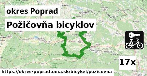 ilustračný obrázok k Požičovňa bicyklov, okres Poprad