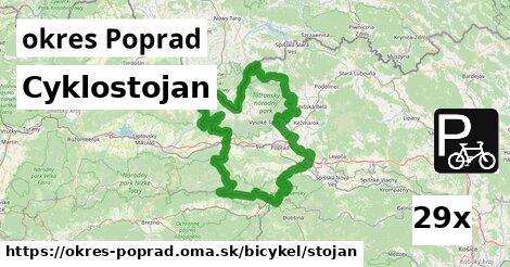 ilustračný obrázok k Cyklostojan, okres Poprad