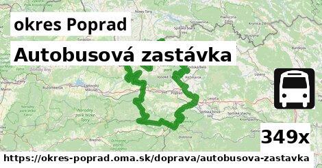 ilustračný obrázok k Autobusová zastávka, okres Poprad