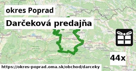 ilustračný obrázok k Darčeková predajňa, okres Poprad