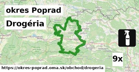 ilustračný obrázok k Drogéria, okres Poprad