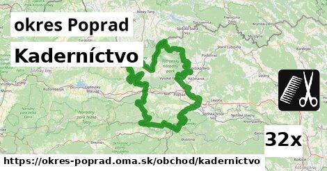 ilustračný obrázok k Kaderníctvo, okres Poprad
