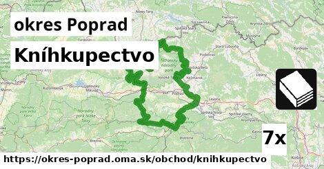 ilustračný obrázok k Kníhkupectvo, okres Poprad