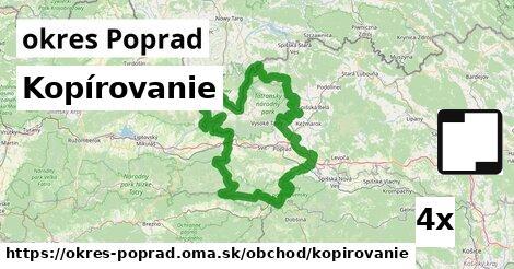 ilustračný obrázok k Kopírovanie, okres Poprad