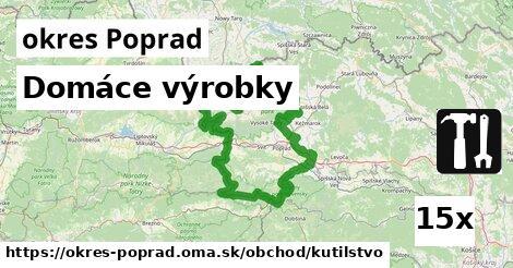 ilustračný obrázok k Domáce výrobky, okres Poprad