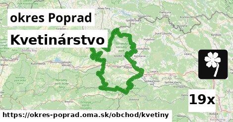 ilustračný obrázok k Kvetinárstvo, okres Poprad