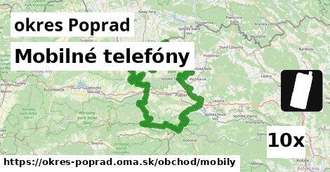 ilustračný obrázok k Mobilné telefóny, okres Poprad