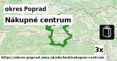 ilustračný obrázok k Nákupné centrum, okres Poprad