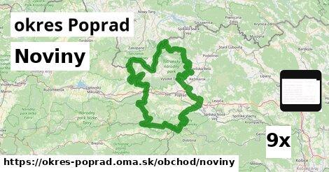 ilustračný obrázok k Noviny, okres Poprad