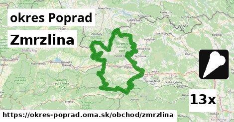 ilustračný obrázok k Zmrzlina, okres Poprad