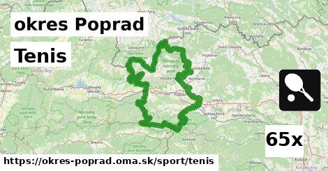 ilustračný obrázok k Tenis, okres Poprad