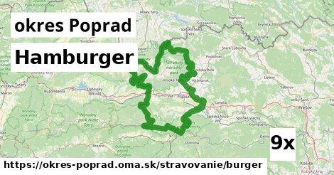 hamburger v okres Poprad