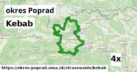 ilustračný obrázok k Kebab, okres Poprad