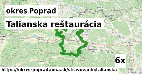talianska reštaurácia v okres Poprad