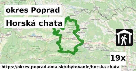 horská chata v okres Poprad