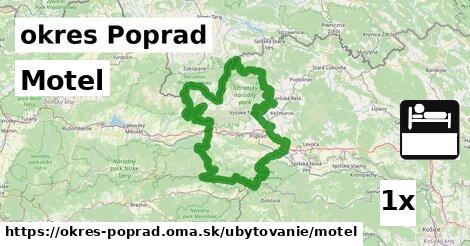 motel v okres Poprad