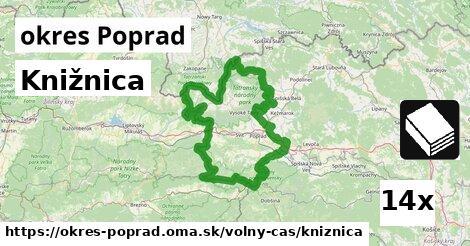 ilustračný obrázok k Knižnica, okres Poprad