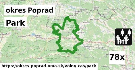ilustračný obrázok k Park, okres Poprad