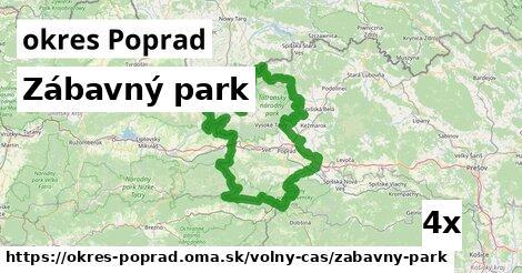 ilustračný obrázok k Zábavný park, okres Poprad