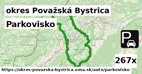 ilustračný obrázok k Parkovisko, okres Považská Bystrica