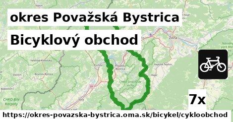 bicyklový obchod v okres Považská Bystrica