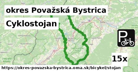 ilustračný obrázok k Cyklostojan, okres Považská Bystrica
