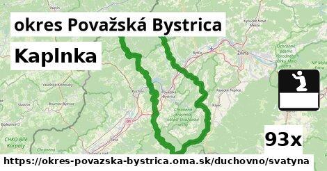 ilustračný obrázok k Kaplnka, okres Považská Bystrica
