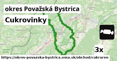 ilustračný obrázok k Cukrovinky, okres Považská Bystrica