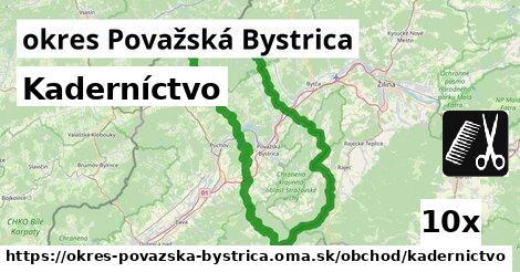 ilustračný obrázok k Kaderníctvo, okres Považská Bystrica